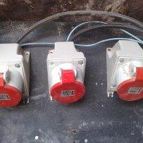 Tomadas e plugs para uso industrial