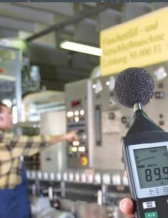 Medições de ruído com decibelímetro