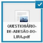 Questionário de adesão ao LIRA