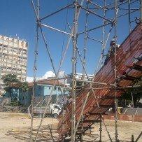 Dimensionamento da Zona Livre de Queda – ZLQ para obras de construção civil